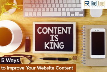 Five Ways to Improve the Legal Content on Your Website