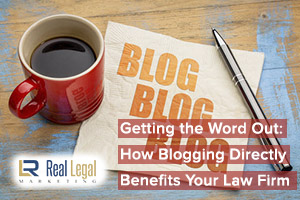 Blogging Directly for law firm