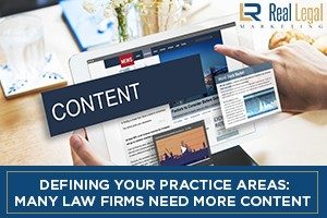 Law Firms Need More Content
